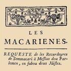 Couverture du livre « Les macariennes » de Collectif et Bernard Manciet aux éditions Entre Deux Mers