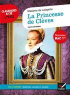 Couverture du livre « La princesse de Clèves ; 1re ; parcours : individu, morale et société (édition 2020) » de Madame De La Fayette aux éditions Hatier