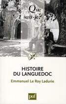 Couverture du livre « Histoire du Languedoc (7e édition) » de Emmanuel Le Roy Ladurie aux éditions Puf
