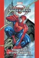 Couverture du livre « Ultimate spider-man t.1 : pouvoirs et responsabilités » de Brian Michael Bendis et Mark Bagley aux éditions Panini