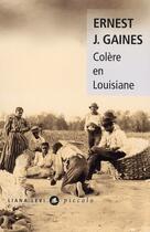 Couverture du livre « Colère en Louisiane » de Ernest J. Gaines aux éditions Liana Levi