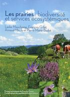Couverture du livre « Les prairies : biodiversite et services ecosystemiques » de Pierre-Marie Badot aux éditions Pu De Franche Comte