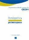 Couverture du livre « Homéopathie et périménopause » de Charvet aux éditions Cedh
