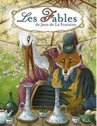 Couverture du livre « Les fables de Jean de La Fontaine » de Alexandre Honore et Jean De La Fontaine aux éditions Piccolia