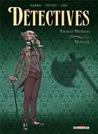 Couverture du livre « Détectives T.3 ; Ernest Patisson, hantée » de Ceyles et Herik Hanna aux éditions Delcourt