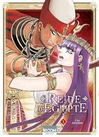 Couverture du livre « Reine d'Egypte T.3 » de Chie Inudoh aux éditions Ki-oon