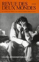 Couverture du livre « REVUE DES DEUX MONDES ; où en sommes-nous avec Céline ? » de Revue Des Deux Mondes aux éditions Revue Des Deux Mondes