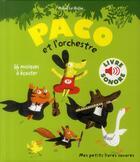 Couverture du livre « Paco et l'orchestre » de Magali Le Huche aux éditions Gallimard-jeunesse