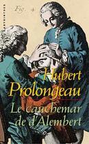 Couverture du livre « Le Cauchemar De D'Alembert » de Prolongeau-H aux éditions Editions Du Masque