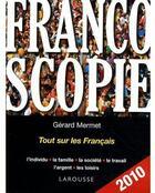 Couverture du livre « Francoscopie » de Mermet-G aux éditions Larousse