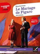 Couverture du livre « Le mariage de Figaro ; 1re ; parcours : la comedie du valet » de Pierre-Augustin Caron De Beaumarchais aux éditions Hatier