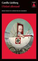 Couverture du livre « L'enfant allemand » de Camilla Lackberg aux éditions Actes Sud