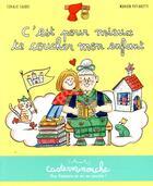 Couverture du livre « C'est pour mieux te coucher mon enfant » de Marion Piffaretti et Coralie Saudo aux éditions Casterman
