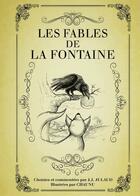 Couverture du livre « Les fables de La Fontaine » de Jean-Joseph Julaud et Chaunu aux éditions First