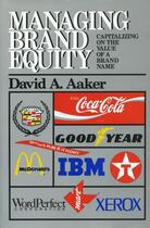 Couverture du livre « Managing Brand Equity » de Aaker David A aux éditions Free Press