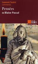 Couverture du livre « Pensées de Pascal » de Laurent Susini aux éditions Gallimard