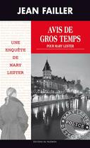 Couverture du livre « Avis de gros temps pour Mary Lester » de Jean Failler aux éditions Palemon