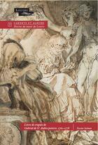 Couverture du livre « Livre de croquis de Gabriel de Saint-Aubin, peintre, 1760-1778 » de Xavier Salmon aux éditions Officina
