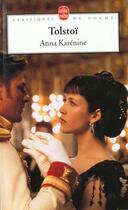 Couverture du livre « Anna karenine » de Leon Tolstoi aux éditions Lgf