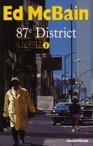 Couverture du livre « 87e district t.1 » de Ed Mcbain et Marc Taraskoff aux éditions Omnibus