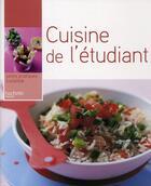 Couverture du livre « Cuisine de l'étudiant » de Elisabeth De Meurville aux éditions Hachette Pratique