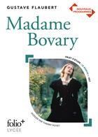 Couverture du livre « Madame Bovary » de Gustave Flaubert et Thierry Poyet aux éditions Gallimard