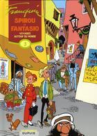 Couverture du livre « Les aventures de Spirou et Fantasio ; INTEGRALE VOL.3 ; voyages autour du monde (1952-1954) » de Andre Franquin aux éditions Dupuis