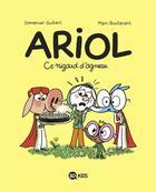 Couverture du livre « Ariol T.14 ; ce nigaud d'agneau » de Emmanuel Guibert et Marc Boutavant aux éditions Bd Kids