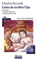 Couverture du livre « Contes de ma Mère l'Oye » de Charles Perrault aux éditions Gallimard
