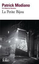 Couverture du livre « La petite bijou » de Patrick Modiano aux éditions Gallimard