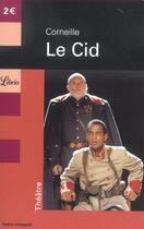 Couverture du livre « Le Cid » de Pierre Corneille aux éditions J'ai Lu