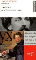 Couverture du livre « Poesies de stephane mallarme (essai et dossier) » de Pascal Durand aux éditions Gallimard