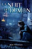 Couverture du livre « La nuit du démon » de Rob Thurman aux éditions Eclipse