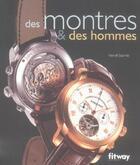 Couverture du livre « Des Montres Et Des Hommes » de Herve Borne aux éditions Fitway