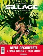 Couverture du livre « Sillage ; COFFRET T.1 A T.3 » de Jean-David Morvan et Philippe Buchet aux éditions Delcourt