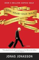 Couverture du livre « The 100-Year-Old Man Who Climbed Out the Window and Disappeared » de Jonas Jonasson aux éditions Hyperion
