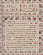 Couverture du livre « Des tripes et des lettres » de Sebastien Lapaque et Yves Camdeborde aux éditions Epure