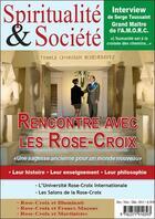 Couverture du livre « Spiritualité & société ; numéro spécial consacré à l'AMORC » de Collectif aux éditions Diffusion Rosicrucienne