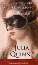 Couverture du livre « La chronique des Bridgerton t.3 ; Benedict » de Julia Quinn aux éditions J'ai Lu