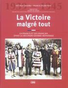 Couverture du livre « La Victoire Malgre Tout » de Jagora / Segretain aux éditions Lbm