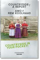 Couverture du livre « Koolhaas ; countryside, a report » de Rem Koolhaas et Amo aux éditions Taschen