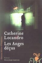 Couverture du livre « Les anges déçus » de Catherine Locandro aux éditions Heloise D'ormesson