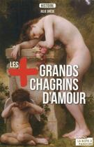 Couverture du livre « Les plus grands chagrins d'amour de l'histoire » de Julie Grede aux éditions La Boite A Pandore
