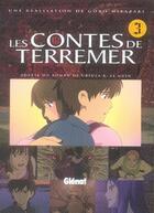 Couverture du livre « Les contes de terremer t.3 » de Miyazaki aux éditions Glenat