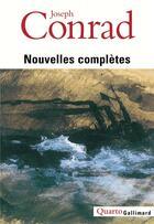 Couverture du livre « Nouvelles completes » de Joseph Conrad aux éditions Gallimard
