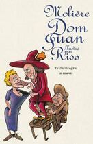 Couverture du livre « Dom Juan de Molière illustré par Riss » de Riss aux éditions Les Echappes