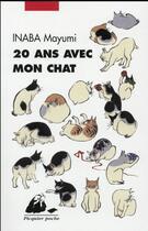 Couverture du livre « 20 ans avec mon chat » de Mayumi Inaba aux éditions Picquier