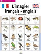 Couverture du livre « PETIT GUIDE T.151 ; l'imagier français/anglais » de Collectif aux éditions Aedis