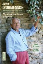 Couverture du livre « Odeur du temps ; saveur du temps » de Jean d'Ormesson aux éditions Pocket