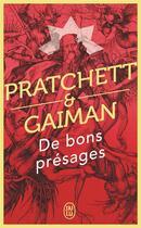 Couverture du livre « De bons présages » de Terry Pratchett et Neil Gaiman aux éditions J'ai Lu